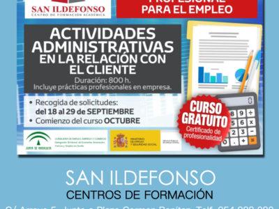 Curso Gratuito : Actividades Administrativas en la relación con el cliente