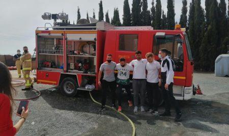 Prácticas de nuestros alumnos opositores a bombero